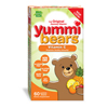 Hero Nutritionals Yummi Bears Vitamin C - 60 Chewables HGR 0394296