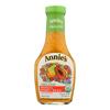 Annie's Homegrown Organic Dressing Papaya Poppy Seed - Case of 6 - 8 fl oz.. HGR 0394379