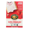 Nature's Path Organic Frosted Toaster Pastries - Berry Strawberry - Case of 12 - 11 oz.. HGR 0394411