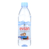 Evian Spring Water Spring Water Plastic - Water - Case of 24 - 500 ml HGR 0394585