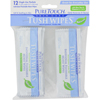Puretouch Skin Care Tush Wipes Naturals - 12 Packets HGR 0394635