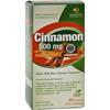 Genceutic Naturals Organic Cinnamon - 500 mg - 60 Capsules HGR 0401042