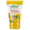 Alba Botanica Hawaiian Green Tea Natural Sunblock SPF 45 - 4 fl oz HGR 0403410