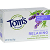 Clean and Green: Tom's of Maine - Natural Beauty Bar Relaxing with Calming Lavender - 4 oz - Case of 6