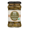 Organic Pitted Green Olives - Case of 6 - 6 oz..