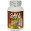 Clear Products Clear Migraine - 60 Capsules HGR 0408856