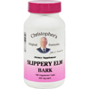 Dr. Christopher's Slippery Elm Bark - 425 mg - 100 Vegetarian Capsules HGR 0413799