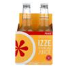 Sparkling Juice - Peach - Case of 6 - 12 Fl oz..