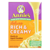 Annie's Homegrown Homegrown Macaroni Dinner - Creamy Deluxe - Shells and Real Aged Cheddar Sauce - 11 oz - case of 12 HGR 0415786
