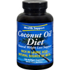 Health Support Coconut Oil Diet - 120 Softgels HGR 0418178