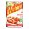 La Victoria Red Enchilada Sauce - Mild - Case of 12 - 10 oz.. HGR 0421370