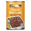 Westbrae Foods Westbrae Foods Organic Black Lentils Beans - Case of 12 - 15 oz. HGR0429746