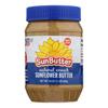 Sunbutter Sunflower Butter - Natural Crunch - Case of 6 - 16 oz.. HGR0441907