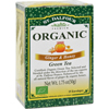 Clean and Green: St Dalfour - Organic Green Tea Ginger and Honey - 25 Tea Bags - Case of 6