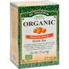 Clean and Green: St Dalfour - Organic Mandarin Orange Green Tea Mandarin Orange - 25 Tea Bags - Case of 6