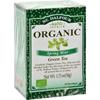 Organic Green Tea Spring Mint - 25 Tea Bags - Case of 6
