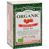 Clean and Green: St Dalfour - Organic Strawberry Rose Green Tea Strawberry Rose - 25 Tea Bags - Case of 6