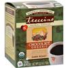 Clean and Green: Teeccino - Herbal Coffee Chocolate Dark Roast - 10 Tea Bags - Case of 6