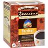 Tea Brewers Dispensers Tea Filters: Teeccino - Herbal Coffee Hazelnut - 10 Tea Bags - Case of 6