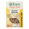 Organic Whole Kamut Spirals - Case of 6 - 12 oz.