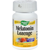 Nature's Way Melatonin Lozenge Fruit - 2.5 mg - 100 Lozenges HGR 0454926