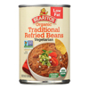 Organic Refried Beans - Traditional - Case of 12 - 16 oz..
