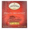 Twinings Tea Breakfast Tea - English - Case of 6 - 50 Bags HGR 0458422
