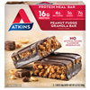 Atkins Advantage Bar Peanut Fudge Granola - 5 Bars HGR 0458604