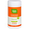 hand sanitizers: CleanWell - CleanWell Hand Sanitizing Wipes - Orange Vanilla - 40 Count