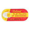 Roland Products Flat Fillets of Anchovies in Olive Oil Salted - Case of 25 - 2 oz.. HGR 0461228