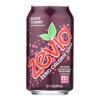 Zevia Soda - Zero Calorie - Black Cherry - Can - 6/12 oz.. - case of 4 HGR 0466508