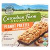 Cascadian Farm Sweet and Salty Bar - Organic - Peanut Pretzel - 6.2 oz.. - case of 12 HGR 0466722