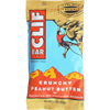 Clif Bar Organic Crunch Peanut Butter - Case of 12 - 2.4 oz HGR 467480