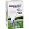 Chromalux Standard Clear Light Bulb - 60 Watt - 1 Bulb HGR 468850
