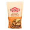 Arrowhead Mills Organic Buckwheat Pancake and Waffle Mix - Case of 6 - 26 oz.. HGR 0478107