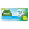seventh generation: Seventh Generation - Free & Clean Tampons - Super with No Applicator - 16/BX