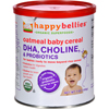 snacks: Happy Baby - Happy Bellies Cereal - Organic Oatmeal - 7 oz - Case of 6