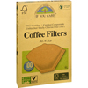 breakroom appliances: If You Care - Coffee Filters - Brown - Cone - Number 6 - 100 Count