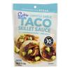 Frontera Foods Chipotle Garlic Taco Skillet Sauce - Skillet Sauce - Case of 6 - 8 oz.. HGR 0504761