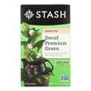 Stash Tea Decaf Tea - Premium Green - Case of 6 - 18 Bags HGR0504951