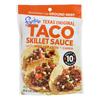 Frontera Foods Texas Original Taco Skillet Sauce - Taco Skillet Sauce - Case of 6 - 8 oz.. HGR 0505255