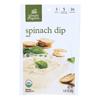 Simply Organic Dip Mix - Organic - Spinach - 1.41 oz.. - Case of 12 HGR 0510628