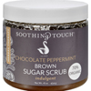 Soothing Touch Brown Sugar Scrub - Chocolate/Peppermint - 16 oz HGR 0516260