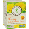 Traditional Medicinals Organic Roasted Dandelion Root Herbal Tea - 16 Tea Bags - Case of 6 HGR 517441