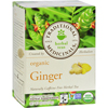 Traditional Medicinals Organic Ginger Herbal Tea - 16 Tea Bags - Case of 6 HGR 517458