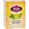 Yogi Teas Cold Season Tea Sampler Caffeine Free - 16 Tea Bags - Case of 6 HGR 518373
