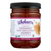 Wholesome Sweeteners Organic Raw Honey - Liquid Sweetener - Case of 6 - 16 oz.. HGR0519108