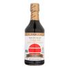 San-J Tamari Soy Sauce - Reduced Sodium - Case of 6 - 20 Fl oz.. HGR 0525667