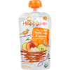 snacks: Happy Baby - Food - Organic - Hearty Meals - Stage 3 - Mama Grain - Pouch - 4 oz - case of 16