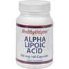 Vitamins OTC Meds Antioxidants: Healthy Origins - Alpha Lipoic Acid - 300 mg - 60 Capsules